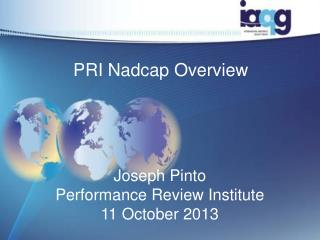 PRI Nadcap Overview