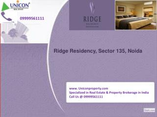 Ridge Residency Apartment - Call 09999561111 for Today Ridge