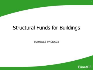 EU role in funding energy efficiency in buildings ...