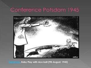 Conference Potsdam 1945