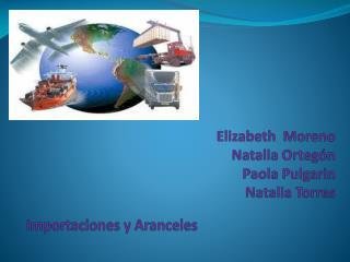 Elizabeth  Moreno Natalia Ortegón Paola Pulgarin Natalia Torres