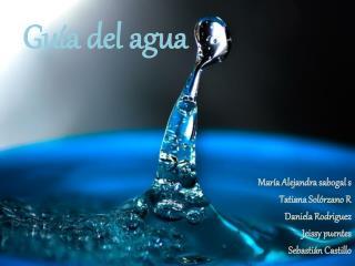 Gu�a del agua
