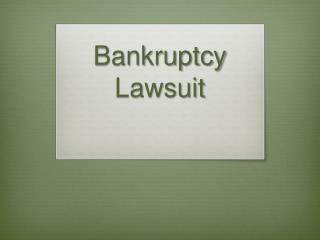 After Filing A Chapter 7 Bankruptcy In New York?