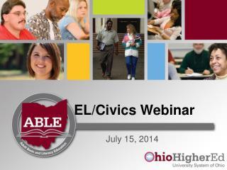 EL/Civics Webinar