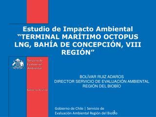 Estudio de Impacto Ambiental  � TERMINAL MAR�TIMO OCTOPUS LNG, BAH�A DE CONCEPCI�N, VIII REGI�N �