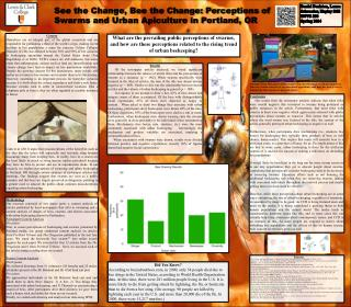 See the Change, Bee the Change: Perceptions of Swarms and Urban Apiculture in Portland, OR