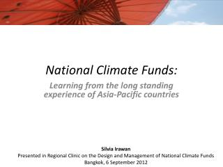 National Climate Funds:
