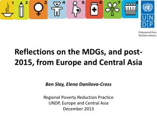 Reflections on the MDGs, and post-2015, from Europe and Central Asia