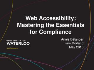 Web Accessibility: Mastering the Essentials for Compliance