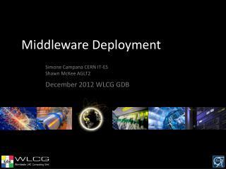 Middleware Deployment