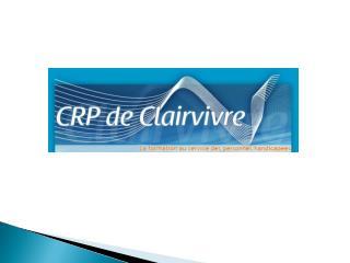 L'Etablissement Public Départemental de Clairvivre
