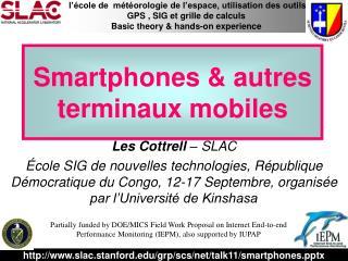 Smartphones & autres  terminaux mobiles