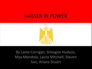 NASSER IN POWER