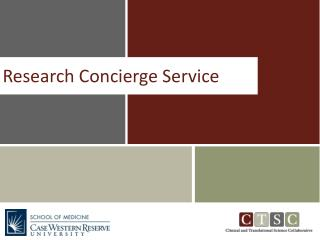 Research Concierge Service