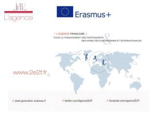 ERASMUS + : de nouvelles opportunit�s