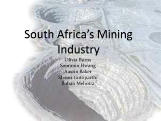 South Africa's Mining Industry