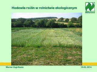 Hodowla roślin w rolnictwie ekologicznym