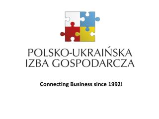 Connecting  Business  since  1992!