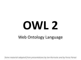 OWL 2