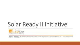 Solar Ready II Initiative