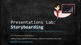 Presentations Lab:  Storyboarding