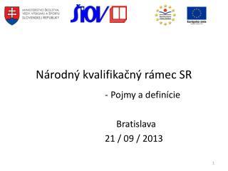 Národný kvalifikačný rámec SR
