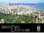 San Isidro Erial view