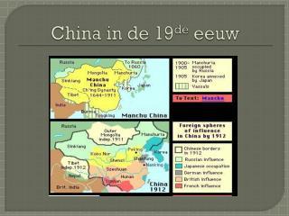 China in de 19 de  eeuw