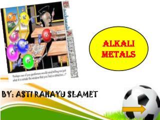 BY: ASTI RAHAYU SLAMET