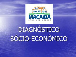 DIAGN STICO S CIO-ECON MICO