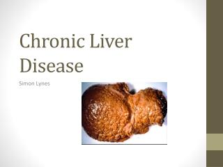 Chronic Liver Disease