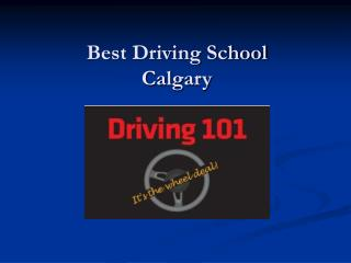 Best Driving School Calgary
