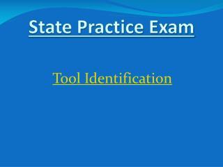 Tool  Identification
