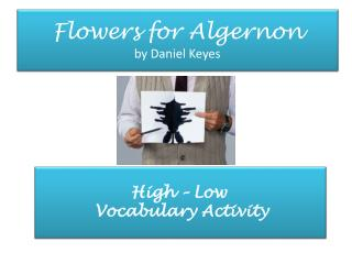 a summary of flowers for algernon by daniel keyes