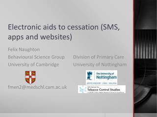 Electronic aids to cessation (SMS, apps and websites)