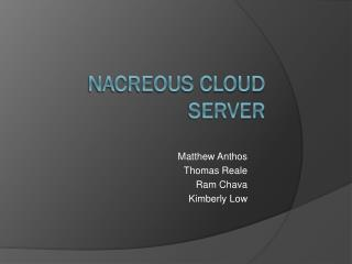 Nacreous Cloud Server