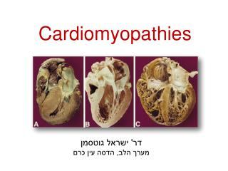 Cardiomyopathies Andre Keren, MD