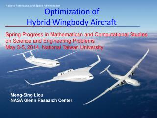 Optimization of  Hybrid  Wingbody Aircraft