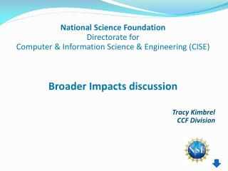 Tracy Kimbrel CCF Division