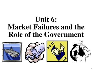 Unit 6:  Market Failures and the Role of the Government