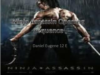 Daniel Eugene 12 E