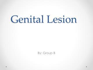 Genital Lesion