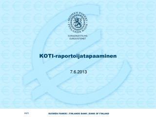 KOTI-raportoijatapaaminen
