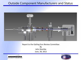 Outside Component Manufacturers and Status