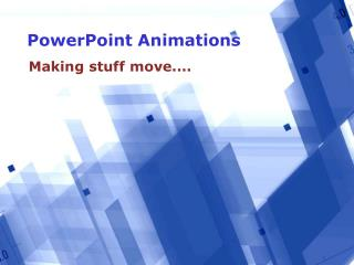Animations in PowerPoint