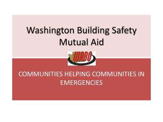 Washington Building Safety Mutual Aid