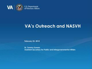 VA's Outreach and NASVH