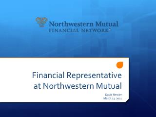 Financial Representative at Northwestern Mutual