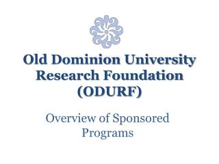 Old Dominion University Research Foundation ODURF