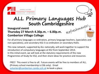 ALL Primary Languages Hub